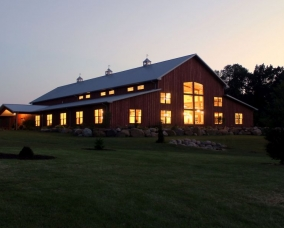 John Miller 2015 lighted barn