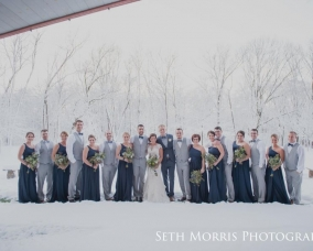 11.21.15 Winter Wedding Party