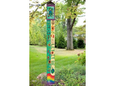 Art Pole 6' Let it Be