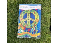 Garden Flag Peace Everywhere