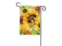 Garden Flag Yellow Sunflower