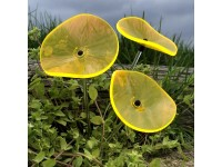Suncatcher Lucille - Yellow (set of 3)