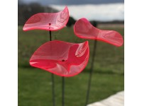 Suncatcher Lucy - Red (set of 3)