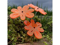 Suncatcher Nea - Orange (set of 3)