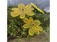 Suncatcher Nea - Yellow (set of 3)